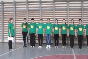Cмотр-конкурс спортивной формы среди групп первого курса